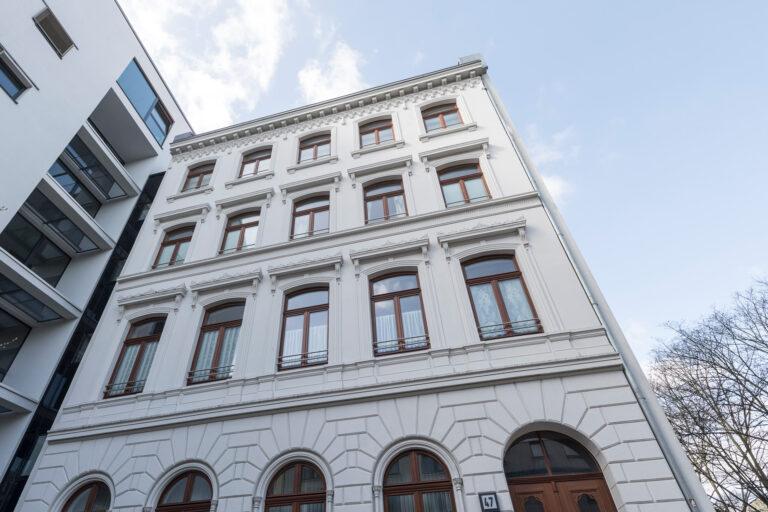 IPT Projekt auf St. Pauli Fassadenansicht