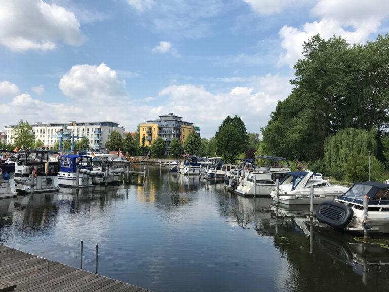 IPT Projekt Havelpromenade mit Booten